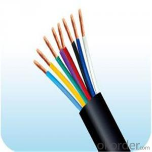 Multi Core PVC Insulated and PVC sheathed Flexible Cable RVV