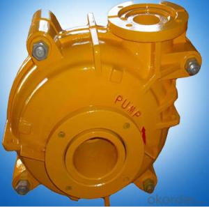 Wear Resistant Metal Lined Slurry Pump For Mining