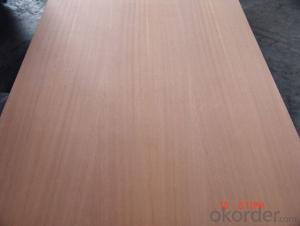 Sliced Cherry Face and Back Plywood Poplar Core for furniture