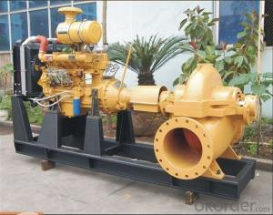 Horizontal Single Stage Double Suction Water Pump