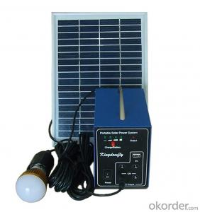 Portable Solar Lighting System Hot Selling SPS_5W