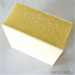 Buy Pu Polyurethane Foam Sandwich Exterior Wall Panels