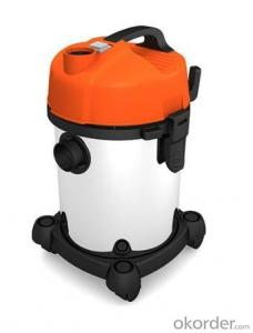 Wet and Dry Vacuum Cleaner with Optional Plastic and Metal Barrel CNWD6201