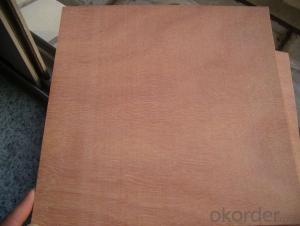 Okoume Face and Back Plywood Poplar Core BBCC Grade