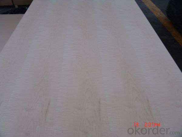 Slice Maple Face and Back Plywood Poplar Core MR Glue