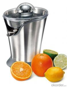 Full Stainless Steel Citrus Juicer 85W, Red coating on SS
