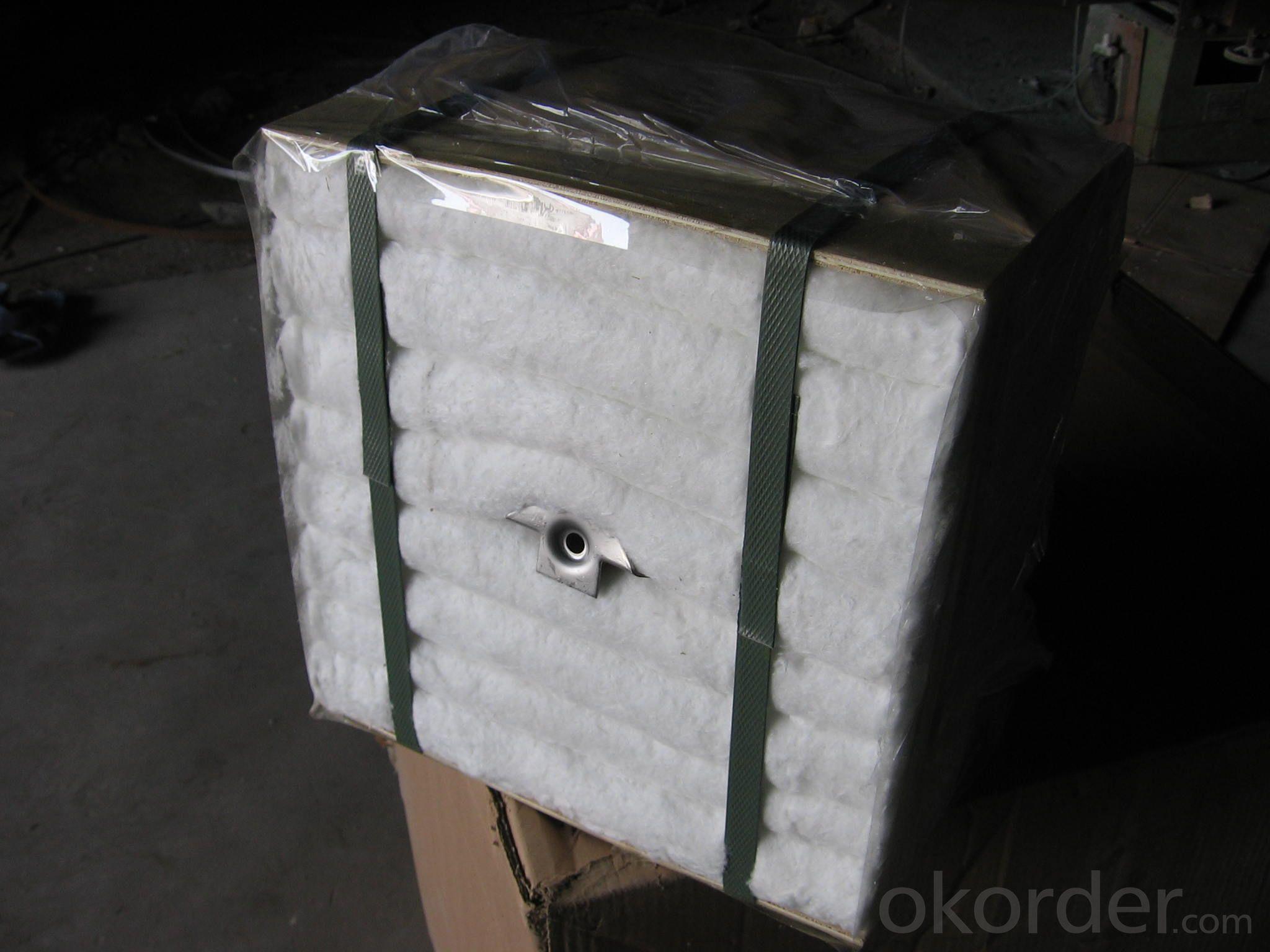 High Heat Insulation Ceramic Fiber Module DZ