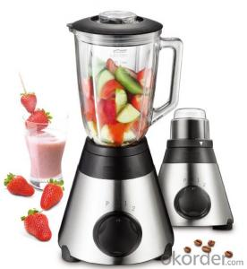 Table Blender Multi-Function, 1.5L, Stainless Steel, with Fruit