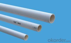 PVC Pipe  PVC  Specification: 16-630mm Length: 5.8/11.8M Standard: GB