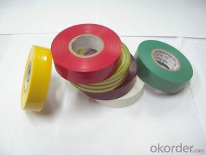 PVC Electrical Tape Packed with Bags and Carton