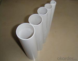 PVC Pipe  GBWall thickness:1.6mm-26.7mm Specification: 16-630mm Length: 5.8/11.8M Standard: GB
