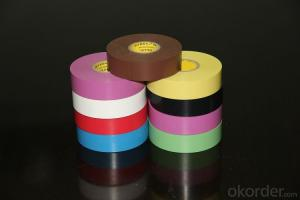 PVC Electrical Tape of Various Sizes of Paper Core