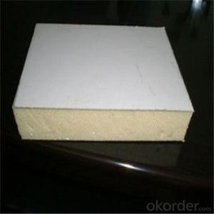 Polyurethane Foam Sandwich Panel EPS Construction Material