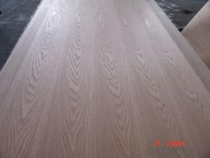 Sliced Red Oak Face and Back Plywood Poplar Core for furniture