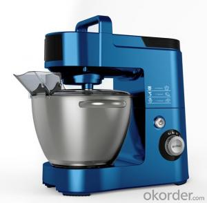 Electric Heavy Stand Mixer Multi-Function  Full Aluminum 5.5L bowl Blue color