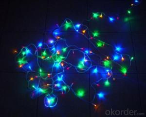 Multi Color LED String Light  Merry Christmas