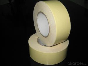 Double Sided OPP Tape with Dark Yellow Release Paper