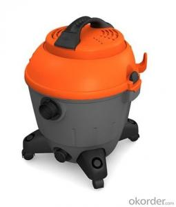 Wet and Dry Vacuum Cleaner with Plastic Barrel CNWD79-25L/35L