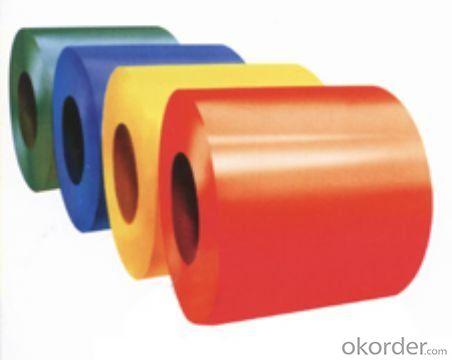 Prepainted galvanized/galvalume steel coils