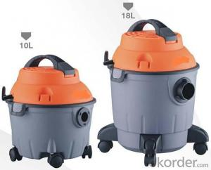 Wet and Dry Vacuum Cleaner with Plastic Barrel CNWD78-10L/18L