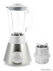 Table Blender, 1.5L 500W, Stainless Steel,Multi-Function,