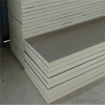 Polyurethane Foam Sandwich Panel / PU Foam Sandwich Wall panels / Wall Sandwich Panel