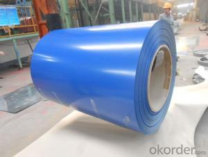 Pre-Painted Galvanized/Aluzinc Steel Coil (PPGI/PPGL) in Blue Color with High Quality