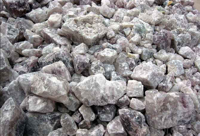 Fluorite from China80-95% Welding Electrode Industry