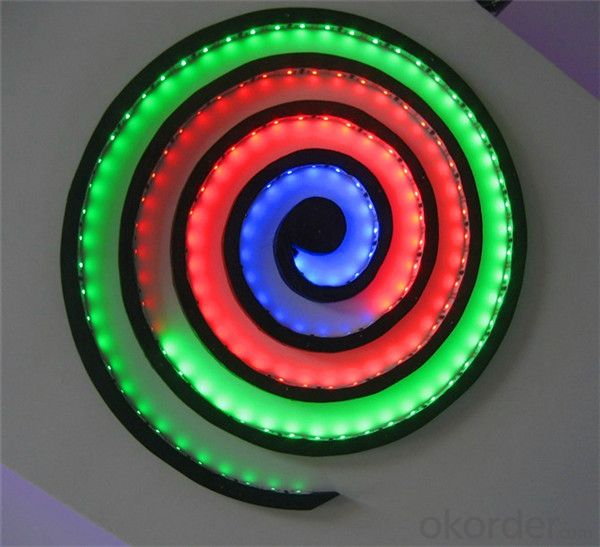 Multicolor Led Light Strip Double Sided Led Strip Light