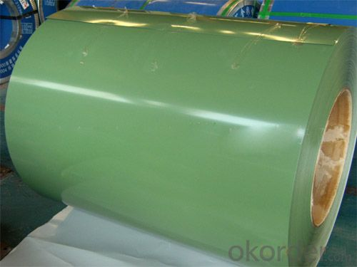 Pre-Painted Galvanized Steel Coil in High Quality Green Color