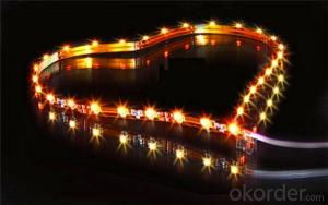 led light strip diffuser channel amber flexible 5050 waterproof led strip light