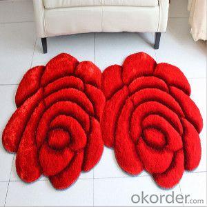 Flowers design handmade aubusson wool carpet