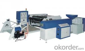 Hot Melt Coating Machine for Metalized Opp Tape