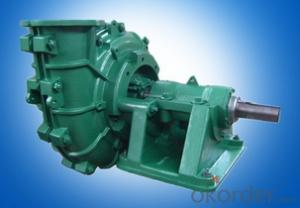 Horizontal Corrosion Resistant Diesel Motor Slurry Pump
