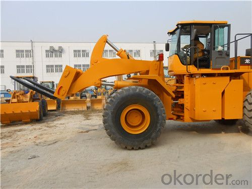 28 Ton LT28T Wheel Loader Forklift Construction