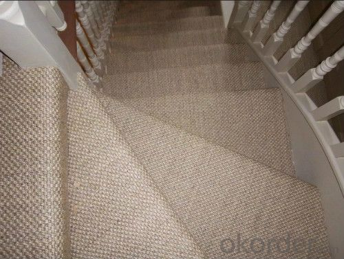 hot sell Latex backing sisal rugs sisal carpet