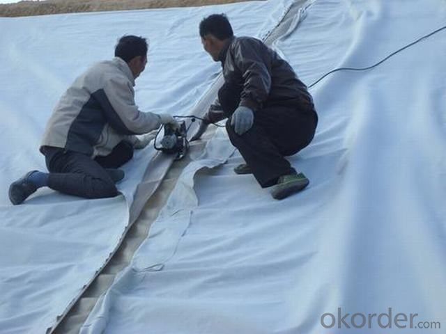 Non-woven Geotextile for River Bank Protection