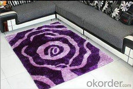 2015 New home decor shaggy carpet wholesale with good price