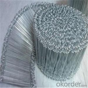 Looped Tie Wire/ Galvanized Annealed, Coppered, PVC Coated, Stainless steel