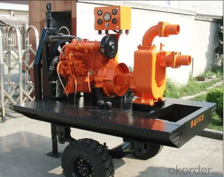 Centrifugal Water Pump with Diesel Engine