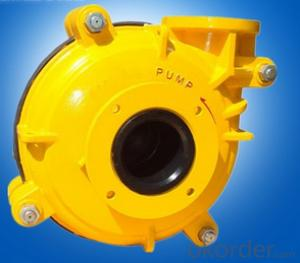 Electric Power Horizontal Centrifugal Wear-Resisting Slurry Pump