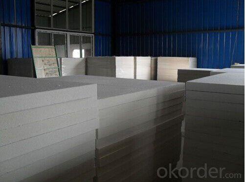 Super Pure Heat Insulation Ceramic Fiber Board DZ