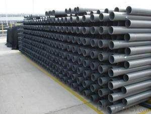 PVC Pipe  colors Wall thickness:1.6mm-26.7mm Specification: 16-630mm Length: 5.8/11.8M Standard: GB