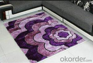 2015 new products machine shaggy carpet design