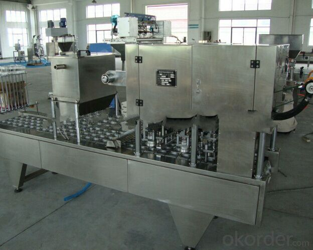 Small Cup filling and Sealing Machine for Aluminum Foil Cup