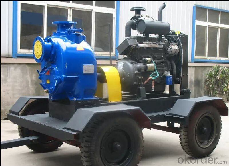 Diesel Driven Centrifual Water Pump for Irrigation