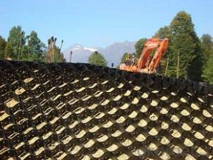 HDPE Geocell for Reinforcement in Construction