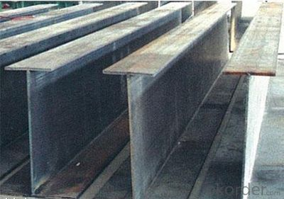 Wide steel H beam for construction JIS G 3192