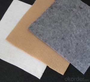 PET Continuous Filament Spunbond Needle Punched Nonwoven Geotextile for Drainage Function: