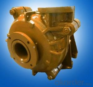Strong Wear Resisting Horizontal Centrifugal Slush Pump